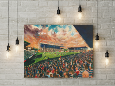 welford road   canvas a3 size